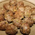 Фрикадельки с грибами